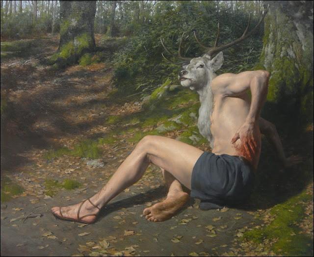 Ce pauvre Actéon eut le malheur de surprendre la déesse Artémis nue, outrée elle le changea en cerf puis sera dévoré par ses propres chiens. Combien de bêtes composaient la meute ?