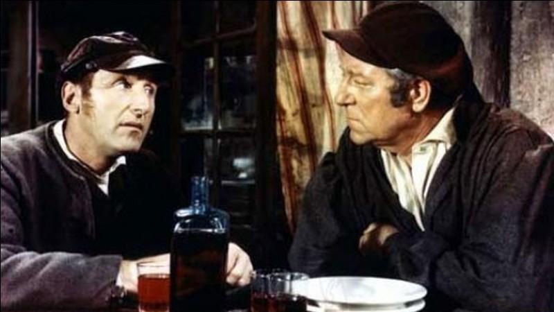 """Quel acteur incarne Thénardier dans le film """"Les Misérables"""" de Jean-Paul Le Chanois, en 1957 ?"""