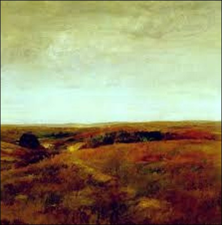 Datant de 1893, ''October'' est une toile d'un peintre américain connu pour son engagement en faveur de l'impressionnisme et comme enseignant. Pourriez-vous me citer son nom ?