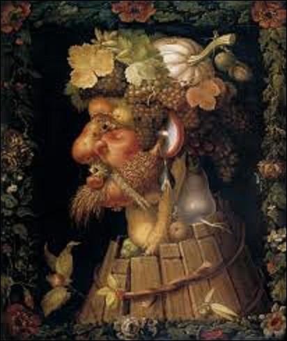 Huile sur chêne faisant partie d'une série de quatre tableaux intitulés ''Les saisons'', ''L'Automne'' a été peint entre 1563 et 1573. Glorifiant la maison de Hasbourg, non sans ironie, il fut offert à l'électeur de Bavière et gouverneur des Pays-Bas espagnols, Maximilien-Emmanuel de Bavière, aussi appelé Maximilien II. Quel peintre maniériste italien en est l'auteur ?