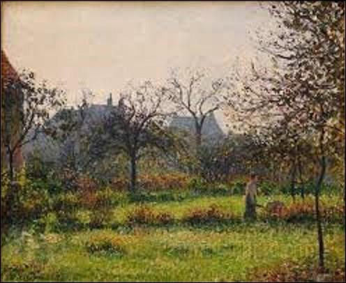 Actuellement conservé au musée d'Orsay, ''Soleil du matin, automne'' est une huile sur toile exécutée en 1897 par un peintre impressionniste. Parmi ces trois artistes cités ci-dessous, lequel a réalisé cette œuvre ?