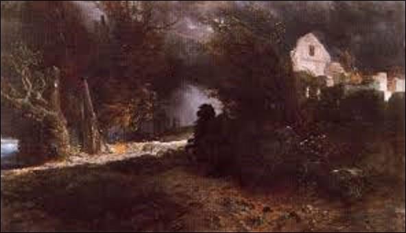 À quel peintre, dessinateur, graphiste et sculpteur suisse de mouvement symbolisme, doit-on cette oeuvre intitulée ''L'Automne et la mort'' en 1898, tableau que l'on peut voir à la Schakgalerie de Munich ?