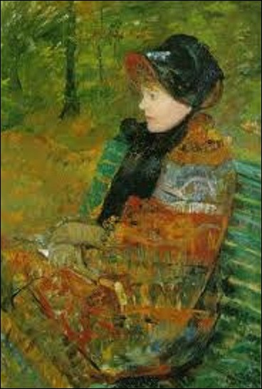 Quelle femme impressionniste a peint en 1880 cette huile sur toile nommée ''L'Automne ou Portrait de Mademoiselle c.'', peinture que l'on peut admirer au musée du Petit Palais ?