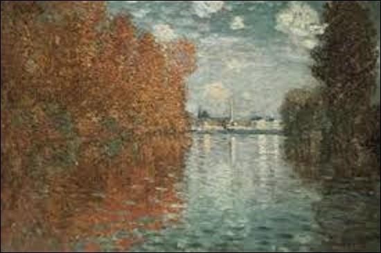 Nous commençons aujourd'hui ce quiz par un tableau issu d'un peintre impressionniste. De ces trois artistes, lequel a réalisé, en 1873, cette toile intitulée ''Argenteuil, effet d'automne'' ?