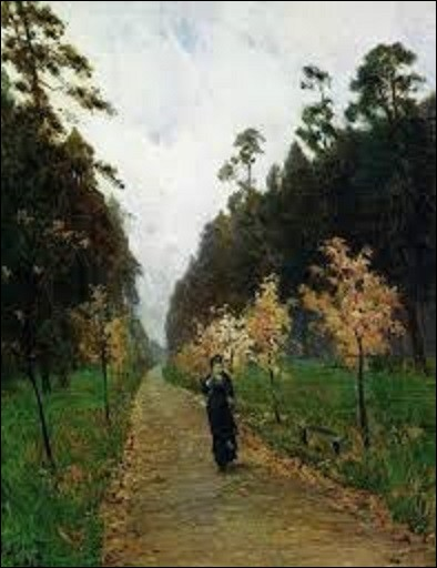 Peinte en 1879 ''Jour d'automne à Sokolniki'' est l'œuvre d'un artiste paysagiste russe. Quel est son nom ?