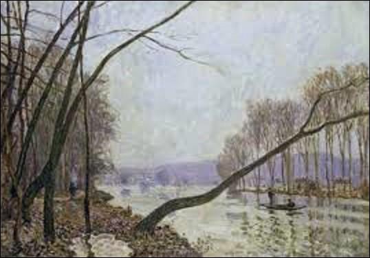 ''Bord de Seine en automne'' est un tableau réalisé en 1879 par un peintre de mouvement impressionnisme. Quel artiste en est l'auteur ?