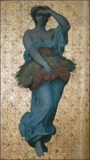 De hauteur de 1,80 m sur 0,85 cm de long, ''L'Automne'' est un tableau réalisé par un peintre académique en 1854. Se situant de nos jours dans une collection particulière. Qui en est l'auteur ?