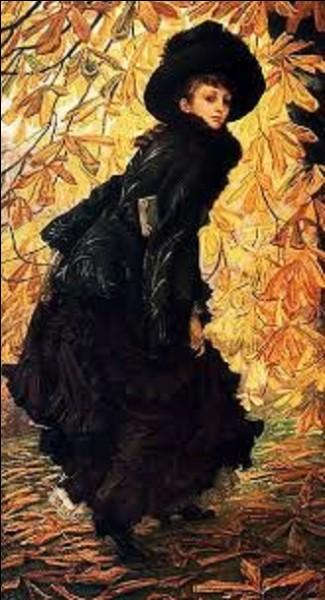 Conservé au musée des beaux-arts de Montréal, ''Octobre'' est un tableau exécuté par un peintre de mouvement japonisme en 1877. Quel est le nom de cet artiste qui a créé cette œuvre ?