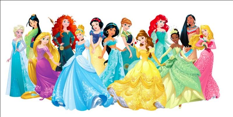 Qui est ta princesse Disney préférée parmi celles-ci ?