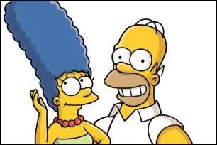 Quel est le travail du père de la famille (Homer) ?
