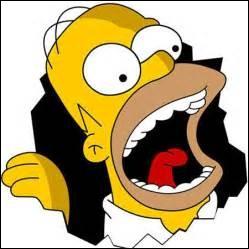 Quelle est la nourriture favorite de Homer ?
