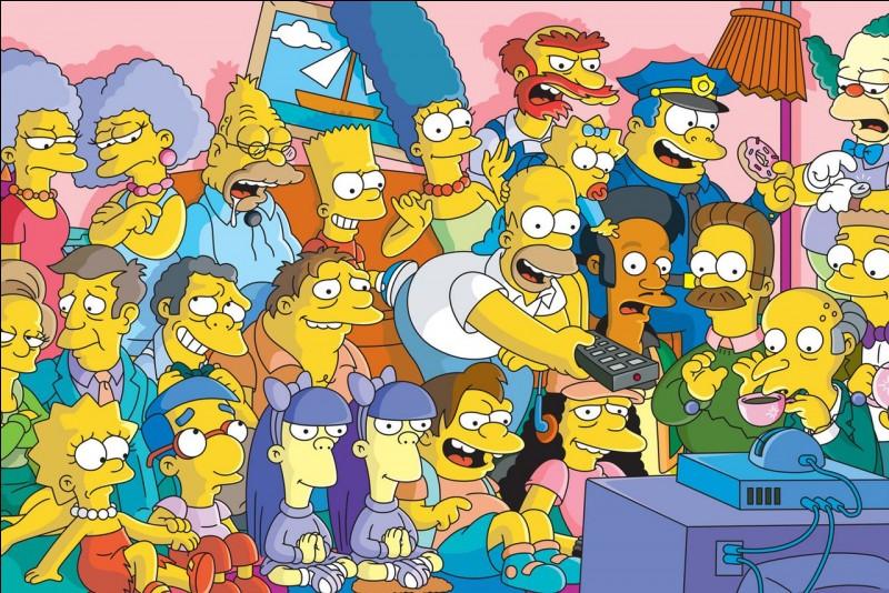 Quel animal de compagnie la famille Simpson a-t-elle ?