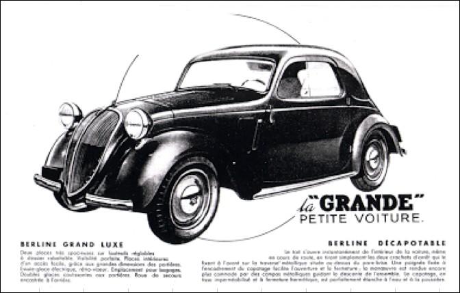 quizz les publicit s d 39 automobiles fran aises d 39 autrefois quiz autos. Black Bedroom Furniture Sets. Home Design Ideas