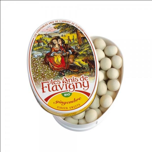 Ces petits bonbons sont des anis de Flavigny. Dans quelle région sont-ils célèbres ?