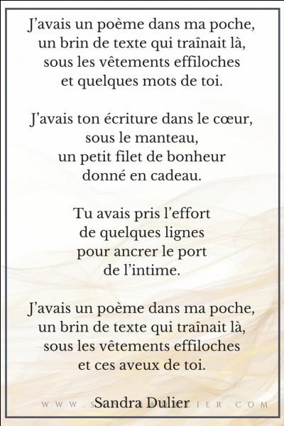 """Poésie - Qui a écrit le poème """"Avent"""" ?"""