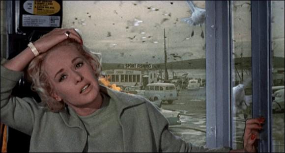 """Dans le film """"Les Oiseaux"""", Mélanie Daniels se rend à Bodega Bay pour :"""