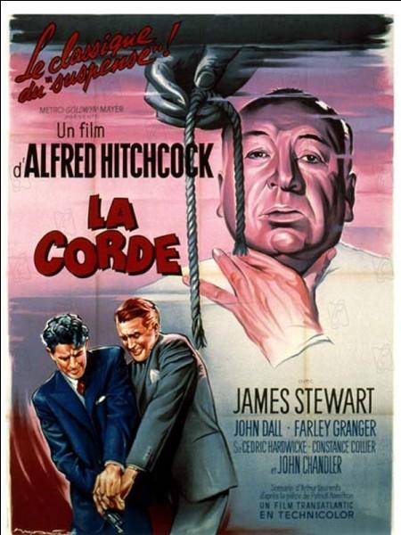 """Dans le film """"La Corde"""", où Brandon Shaw et Philip Morgan ont-ils caché le cadavre ?"""