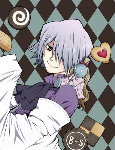 Dans quel manga cet homme un peu bizarre mange-t-il toujours des bonbons et autres sucettes ?