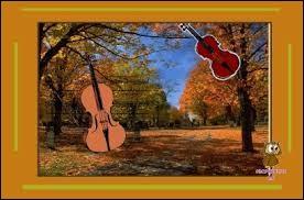 """""""Les sanglot longs des violons de l'automne blessent mon cœur d'une langueur monotone."""" A qui doit-on ces vers ?"""