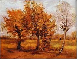 """Qui a peint la toile """"Paysage d'Automne"""" ?"""