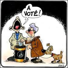 [Education civique] Parmi ces types d'élections, indiquer celles se déroulant tous les six ans :