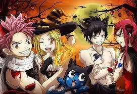 Les héros de mangas fêtent Halloween