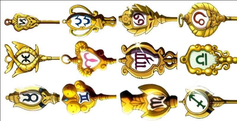 Il existe seulement douze clés d'or.