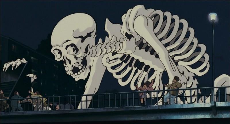 Dans quel film d'animation du studio Ghibli pouvons-nous voir Gashadokuro ?
