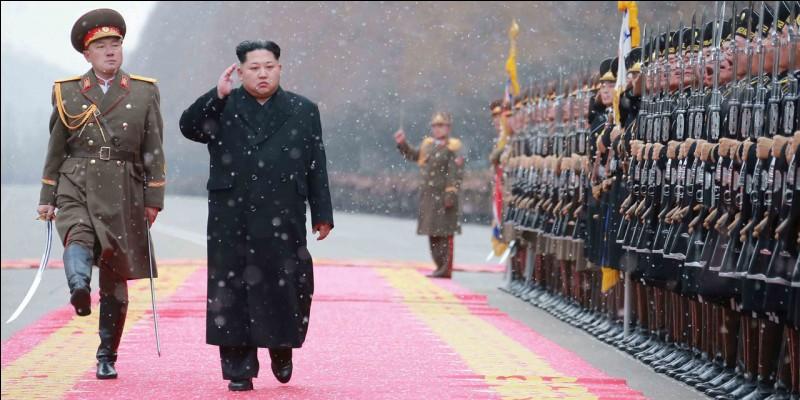 En 2017, la Corée du Sud menace de bombarder les États-Unis.