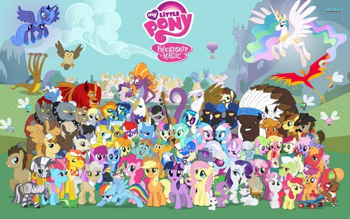 My Little Pony - Personnages