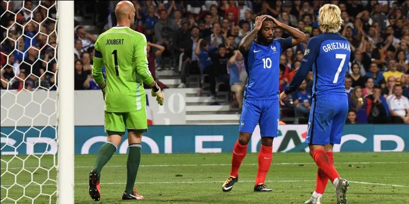 Dans quelle ville s'est déroulée la rencontre France-Luxembourg le 03 septembre 2017, se soldant par un match nul 0-0 ?