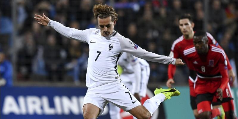 Quels sont les buteurs français du match : Luxembourg - France se passant au Luxembourg ?