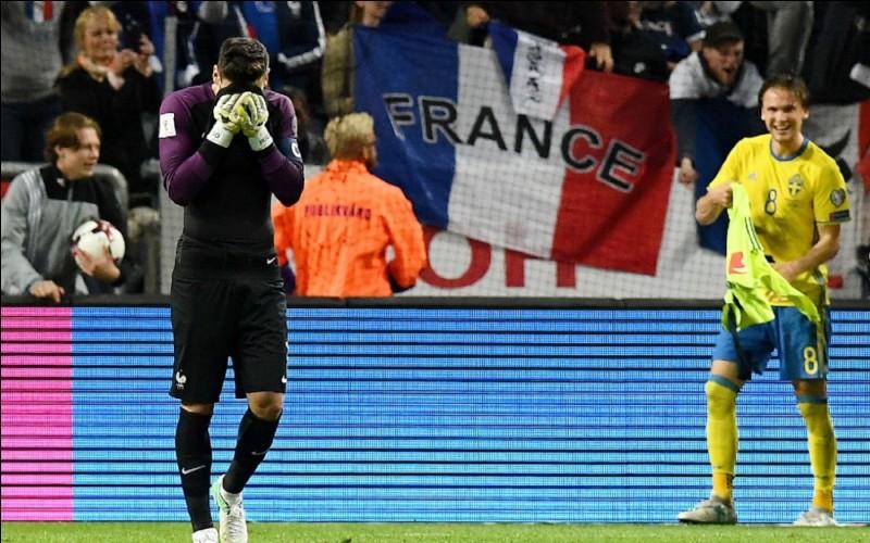 La France perd-elle son match face à la Suède le 09 juin 2017 au Friends Arena ?