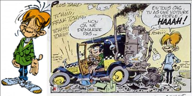Comme personnage de la BD, Gaston a un ami dont on ne connaît pas le nom, on ne connaît de lui que son surnom. C'est un comparse de Gaston, aussi expert que lui en gaffe. Il semble un peu moins farfelu que lui.Qui est ce personnage ?