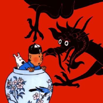 Les couvertures des albums de Tintin