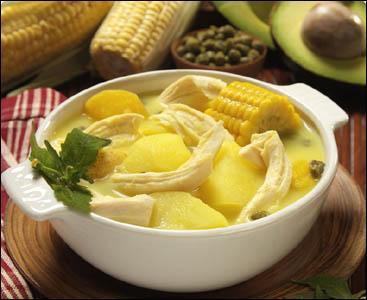 L'ajiaco est un plat typique de Colombie qui utilise notamment la guasca qui est :