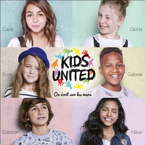 """Combien d'albums Carla a-t-elle fait avec les """"Kids United"""" ?"""