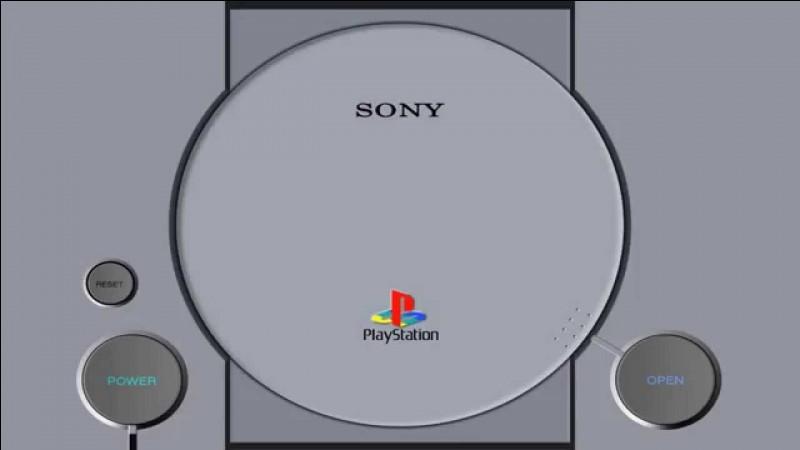 À quelle date est sortie la PlayStation ?