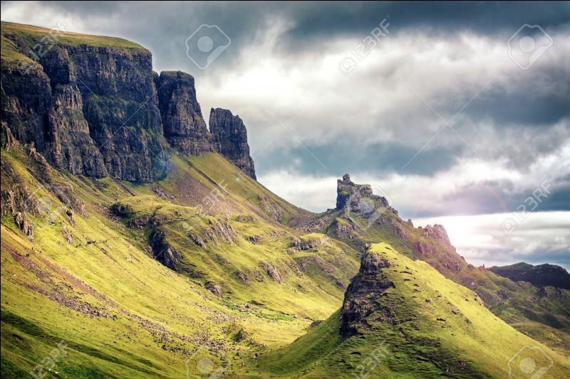 L'Écosse est au sud de l'Angleterre.