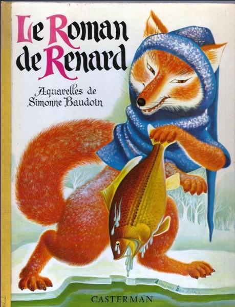 Quel animal s'appelait « Bruyant » dans « Le roman de Renart ?