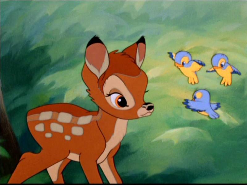 "Quel animal est Pan-Pan dans ""Bambi"" ?"