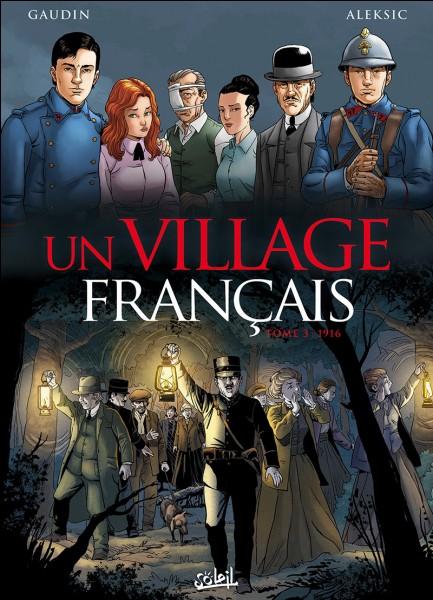 Quelle est la profession de Daniel André Larcher (Robin Renucci) dans la série « Un village français » ?