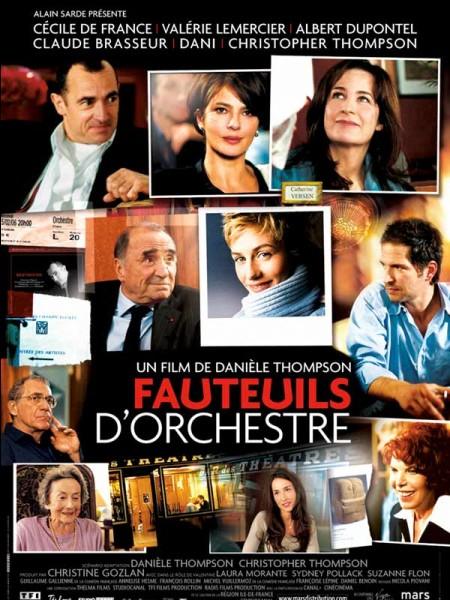 Qui se fait engager comme serveuse dans le film « Fauteuils d'orchestre » ?