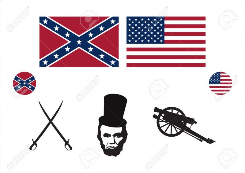 Quelle guerre opposa le nord (les Nordistes) et le sud (les Confédérés) des États-Unis et où les Nordistes furent dirigés par Ulysse S. Grant ?