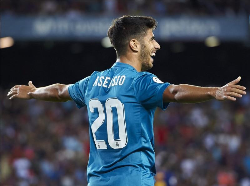 Combien Asensio a-t-il été acheté à Majorque ?