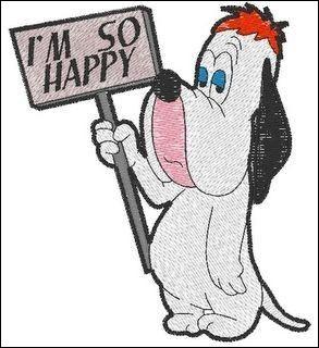 Ce chien est souvent lent et mélancolique : il a des réparties à contre-temps. On l'a vu dans ''Qui veut la peau de Roger Rabbit''. Il joue aussi avec Tom et Jerry, toujours dans le style d'avoir les paupières lourdes et affaissées ou des poches sous les yeux. Son nom fait partie de l'anglais populaire d'Amérique, synonyme de mou.