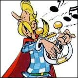 Il est le barde du village d'Astérix et Obélix. Il est le seul à croire aux qualités de son chant. À la fin des péripéties, les habitants du village le ligoteront à l'extérieur pour l'empêcher de chanter au buffet de sangliers.
