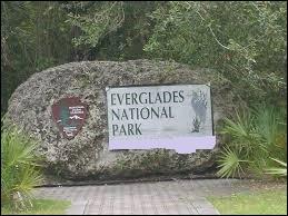 Si vous visitez le parc national des Everglades, vous vous trouvez…