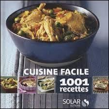 Il est un auteur-compositeur talentueux et passionné de gastronomie. Il a publié un livre de recettes en 2010, il s'agit de...