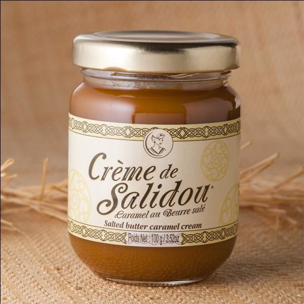 """De quelle région provient la """"Crème de Salidou"""" ?"""